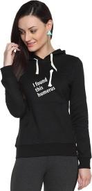 Campus Sutra Full Sleeve Printed Women's Sweatshirt