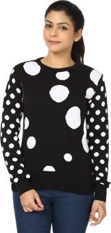 Black Sheep Full Sleeve Woven Women's Sweatshirt - SWSEADCEPBXBQBCZ