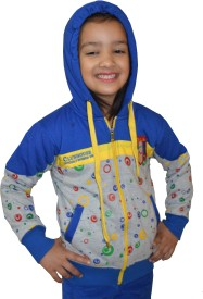 Shaun Full Sleeve Solid Girl's Sweatshirt
