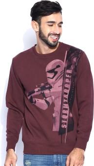 Kook N Keech Star Wars Full Sleeve Printed Men's Sweatshirt - SWSEEUA2GFBSWBZK
