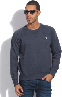 Fila Full Sleeve Solid Men's Sweatshirt
