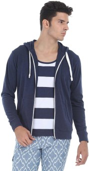 Zobello Full Sleeve Solid Men's Sweatshirt - SWSE9GZGRVHTMVW8