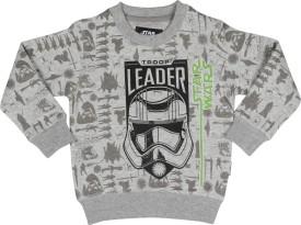 Star Wars Full Sleeve Printed Boy's Sweatshirt