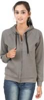 Hypernation Full Sleeve Solid Women's Sweatshirt