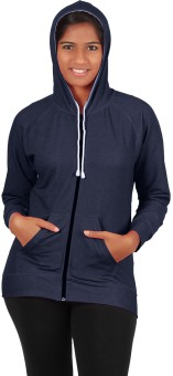 Softwear Full Sleeve Solid Women's Sweatshirt - SWSEFUHYG3QEKAFW