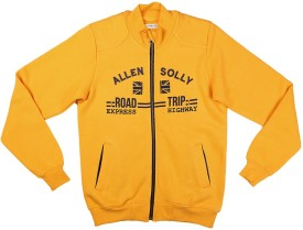 Allen Solly Full Sleeve Printed Boy's Sweatshirt