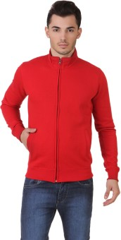 Aventura Outfitters Medium Warm Fleece Jackets Full Sleeve Solid Men's Sweatshirt