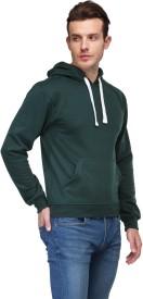 TSX Full Sleeve Solid Men's Sweatshirt