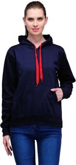 Scott International Full Sleeve Solid Women's Sweatshirt - SWSEAZ87RXNNGSD6