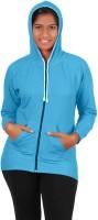 Softwear Full Sleeve Solid Women's Sweatshirt - SWSEFUHYDTZGHMYD