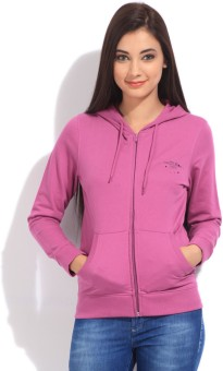 Wrangler Full Sleeve Solid Women's Sweatshirt - SWSE8Q4TPMAWJGHR
