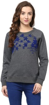 The Vanca Full Sleeve Printed Women's Sweatshirt - SWSEDMVADNBKV6TK