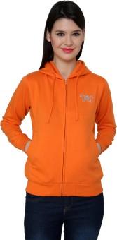 Cayman Autumn Winter Full Sleeve Solid Women's Sweatshirt - SWSE3RFFZWGZ5FTM