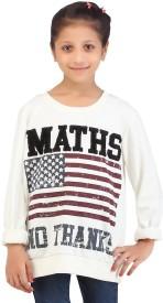 Life by Shoppers Stop Full Sleeve Printed Girl's Sweatshirt