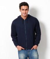 Weardo Full Sleeve Solid Men's Sweatshirt