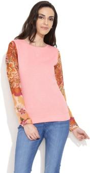 Alibi Cotton Candy Full Sleeve Printed Women's Sweatshirt