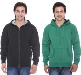 Cee-For Full Sleeve Solid Men's Sweatshirt - SWSEB3FCKNCXJXAE