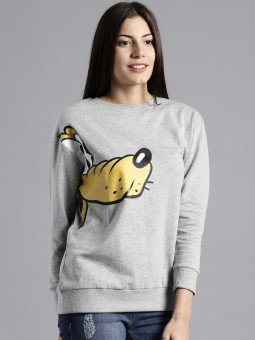 Moda Rapido Full Sleeve Printed Women's Sweatshirt
