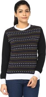 Black Sheep Full Sleeve Woven Women's Sweatshirt - SWSEADCE8HJHEZKV