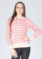Lee Full Sleeve Striped Women's Sweatshirt