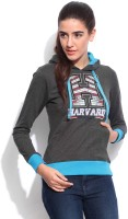 Harvard Full Sleeve Printed Women's Sweatshirt - SWSEFHZYSZBAGB2Y
