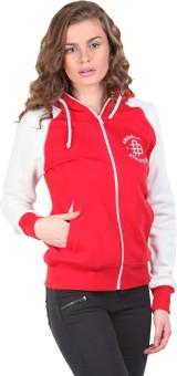 Bongio Full Sleeve Self Design Women's Reversible Sweatshirt