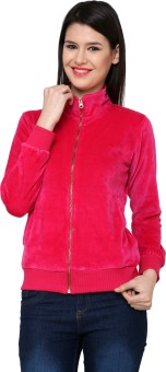 Cayman Autumn Winter Full Sleeve Solid Women's Sweatshirt - SWSE3QGKGTQK8GFG