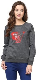 The Vanca Full Sleeve Printed Women's Sweatshirt