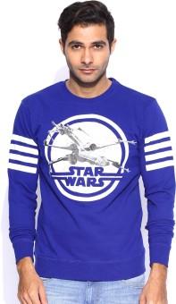 Kook N Keech Star Wars Full Sleeve Printed Men's Sweatshirt - SWSEEUA2ZZP5FY5V