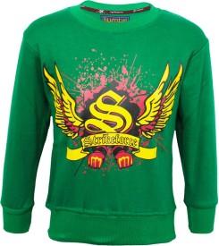 Kothari Full Sleeve Printed Boy's Sweatshirt