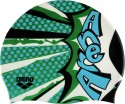 Arena Poolish Swimming Cap - Green, Pack Of 1