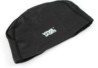 Viva Sports Pu Coated Lycra Swimming Cap (Black, Pack Of 1)