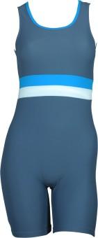 Veloz Half Legsuit Knee Length Striped Women's