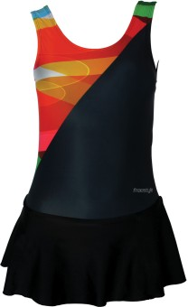 Freestyle Frock With V Cut W/Pad Provision Printed Women's - SWIEBQ7GYAZTHH7S