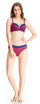 Private Lives 'Polka Pink Passion' Swimwear Printed Women's