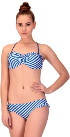 CHKOKKO Swimsuit Self Design Women's