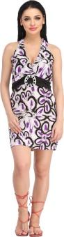 N-Gal Halter Printed Colored Beach Wear Dress Printed Women's