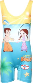 Chhota Bheem Swimwear Graphic Print Girl's