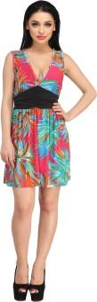 N-Gal Halter Printed Colored Beach Wear Dress Printed Women's - SWIEDKSKEKYRKQBG