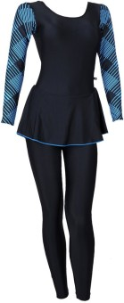 Champ Frock Style With Full Sleeves Full Slacks With Pads Printed Women's