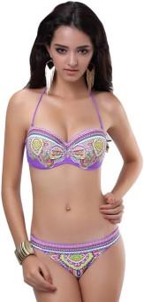 N-Gal NY3074-Purple Floral Print Women's