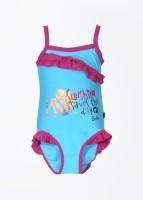 Barbie Printed Girl's Swimsuit