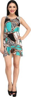 N-Gal Beautiful And Comfortable Printed Beachwear Dress Printed Women's