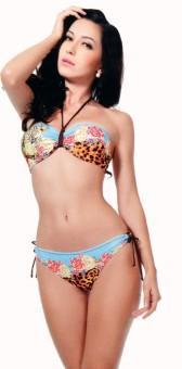 Kunchals Padded Bikini Set Printed Women's