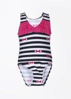 Barbie Striped Girl's Swimsuit
