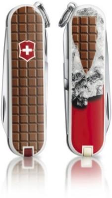 Chocolate 8 Tool Multi-utility Swiss Knife