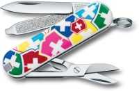 Victorinox 0.6223.841 - Classic Vx Colors 7 Function Multi Utility Swiss Knife (Silver)