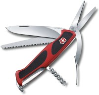 Victorinox Original RANGERGRIP 71 GARDENER 7 Function Multi Utility Swiss Knife (Red/Black)