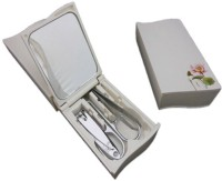 RD Promos Manicure Set 1 Tool Multi-utility  Swiss Knife (White)