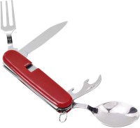 Gift Studio Camping /Picnic Set 5 Tool Multi-utility  Swiss Knife (Red)